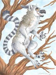 Lemur Dragon by Demonic-Haze