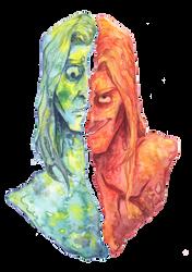 Split by Demonic-Haze