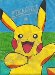 Pokemon - Pikachu by MelinaHoshi13