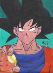 Dragon Ball Z - Goku by MelinaHoshi13