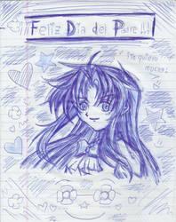 Full Metal Panic! - Kaname Chidori by MelinaHoshi13