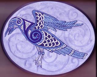 Dream Raven by ladyfireoak