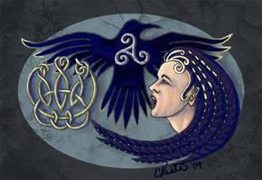 The Morrighan by ladyfireoak