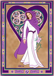 The Celtic Bride by ladyfireoak