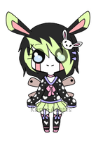 Puppet Rabbit (Closed) by Rusty-Adopts