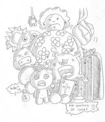 The Binding of Isaac - Sketch by Revan1118