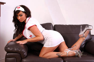 On your knees Nurse by DaveHammond