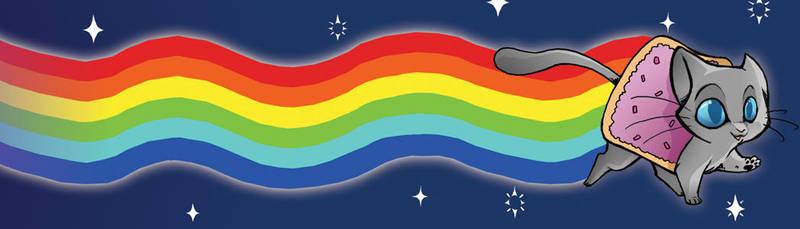 Nyan Cat by DinKelion