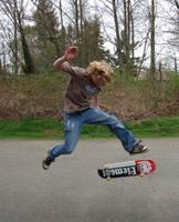 Skateboardin' 1 by intergalacticstock