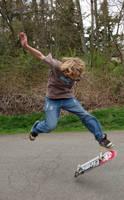Skateboardin' 7 by intergalacticstock