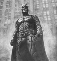The Dark Knight by joannesotoart