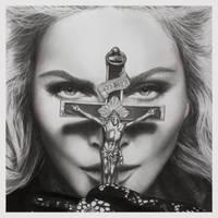 Madonna I by joannesotoart