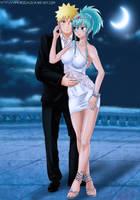 Commission: Naruto x princess Hisui - Long night by Amenoosa