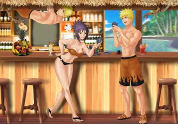 Commission: Naruto x Anko by Amenoosa