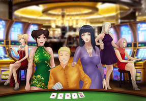 Commission: Casino Night by Amenoosa