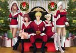 Commission: Happy holidays by Amenoosa