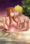 Commission: Naruto X Sasame by Amenoosa