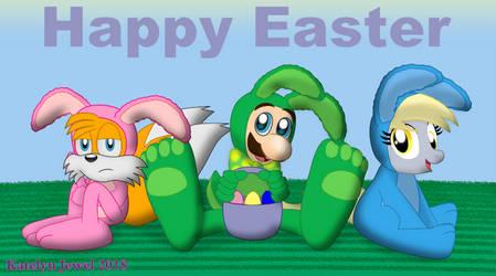 Easter Sidekick Trio by PPG-Katelyn