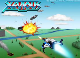 Xevious by Tarrow100