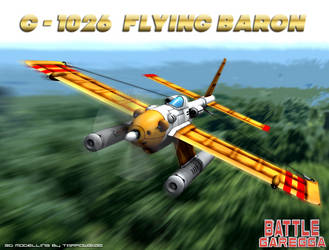 G-1026 FlyingBaron by Tarrow100
