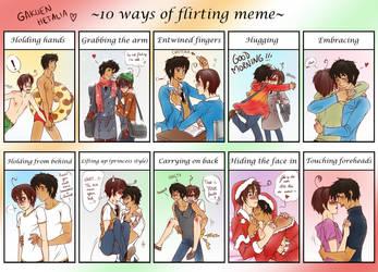 Spamano - 10 ways of flirting meme by x-Lilou-chan-x