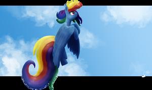 Rainbows Flight by RainbowGambler