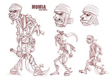 Momia Design by ivancash
