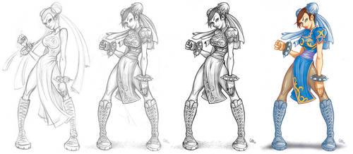 Chun-Li (process) by ivancash
