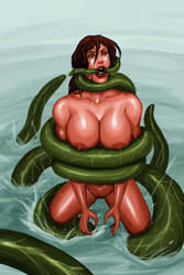 Sylva - image from second comic done by Gwproject by SavageSylva