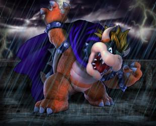 Edit: Super Mario Bros 3 Bowser by Zacmariozero