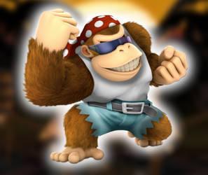 Edit: Smash Ultimate Funky Kong by Zacmariozero
