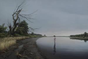 Silent water by Sergey-Averkin