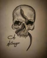 Skullart by almberger