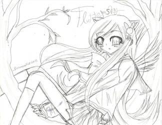 Fluttershy Anime- 01 by PinkamenaRocksCute13