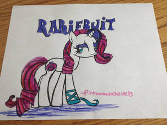 RaRiFrUiT- drawing by PinkamenaRocksCute13
