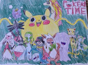 It's Pokemon Time! by PinkamenaRocksCute13