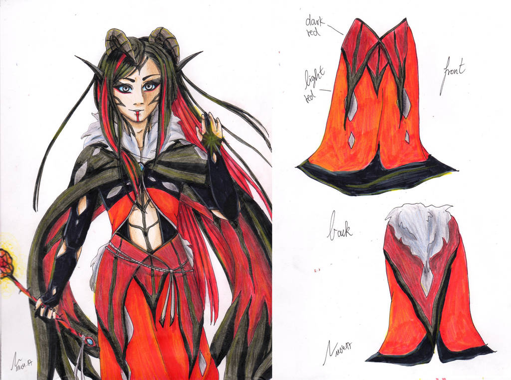 Yveltal Gijinka Redesign (CLOSED) by LacrimareObscura on ...