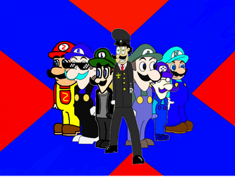 Elite Soldiers Defending Weegee by TheRealFreegee