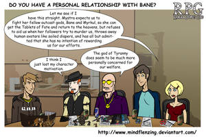 RPG Do You Have A Personal Relationship With Bane? by mindflenzing