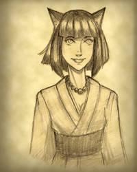Catgirl 1 by mindflenzing