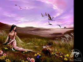 Spring Goddess by real4fantasy