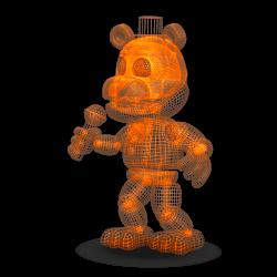 Orange Virtua Freddy by XxSolarMoonclipsexX