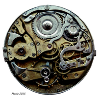 clockwork Stock Photo 1 by MariaRaute2