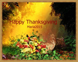 Thanksgiving by MariaRaute2