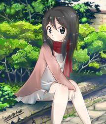 Mikasa shingeki no kyojin by keitenstudio