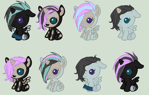 Bruce X Double Trouble /OPEN/ by gosh-ponies