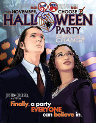 Halloween Party Invite '08 by JoopaDoops