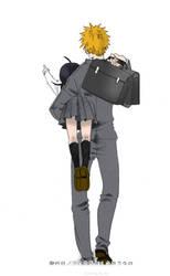 IchiRuki: back from school by mosya-yummy