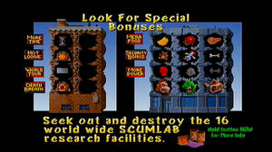Rampage World Tour : Idle Screen 3 by DarthArchanist