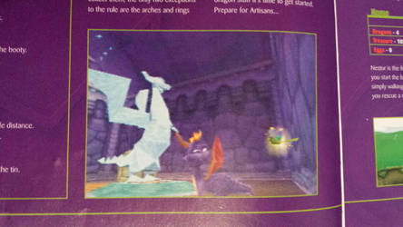Strange Spyro Beta Image by DarthArchanist
